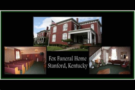 fox funeral home stanford ky legacy