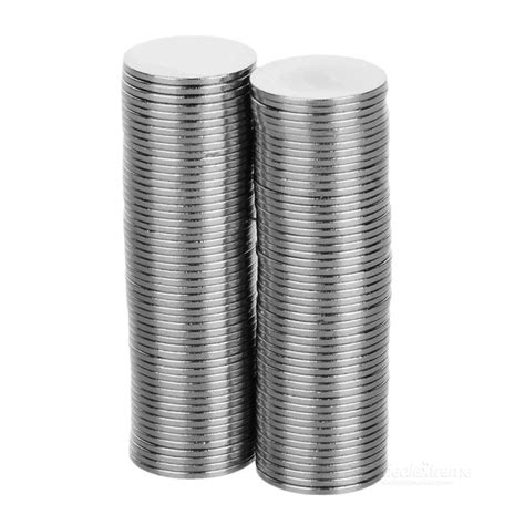 Mocilen Magnet 15 Mm fandyfire 15mm 1mm nickel plated ndfeb magnet silver