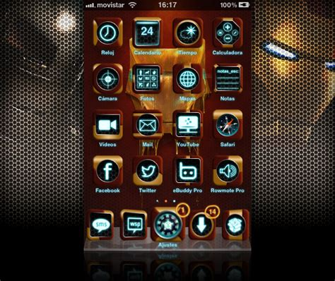 iron man themes for iphone 6 iron man fan theme for iphone by guillhermes on deviantart