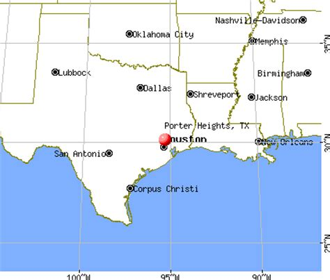 porter texas map map of porter texas