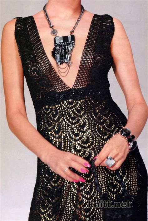 Crochet Evening Gown evening dress crochet pattern crochet kingdom