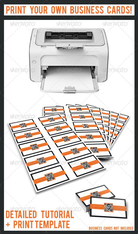 ad print your own business cards template print your own business cards graphicriver