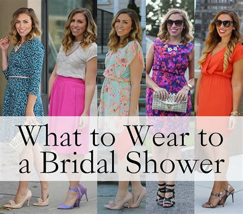 What To Wear To Wedding Shower by What To Wear To A Bridal Shower Living After Midnite