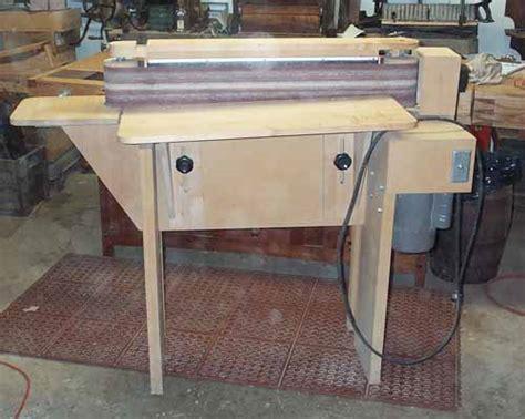 edge sanders woodworking shop built 6 x 89 edge sander