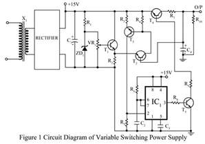 adjustable power supply wiring diagram magnetek capacitor