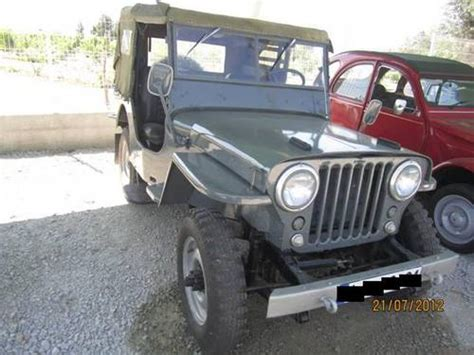 1947 Willys Jeep For Sale For Sale 1947 Superb Willys Jeep Cj2a Classic Cars Hq