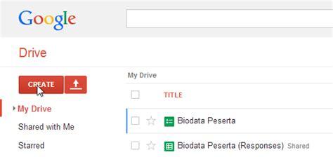 membuat form online google blog gaul membuat survei online dengan google form