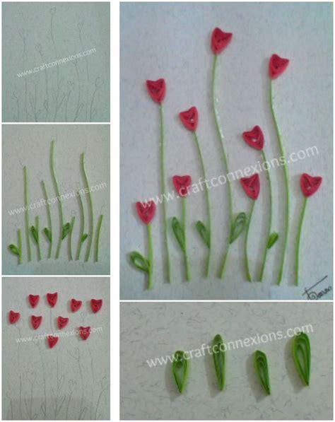 How To Make Glaze Paper Flowers - 1000 id 233 es sur le th 232 me quilling flowers tutorial sur