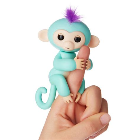 zoetoys baby chunky wowwee fingerlings interactive baby monkey zoe toys quot r quot us