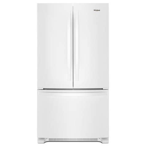 whirlpool counter depth refrigerator door whirlpool 20 cu ft door refrigerator in white