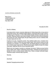 form letter template templates 187 formal letters