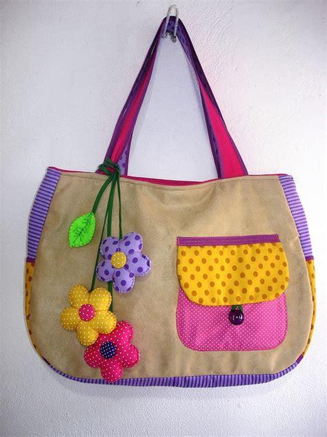 Handmade Bag Ideas - handmade cloth bag patterns craft ideas
