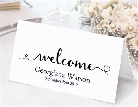diy place cards word template place cards wedding place card template diy editable