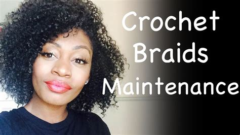 maintaining human hair crotchet braids crochet braids maintenance how to take care of curly