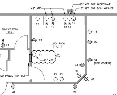 how to show electrical outlets on floor plan how to show electrical outlets on floor plan 3 prong