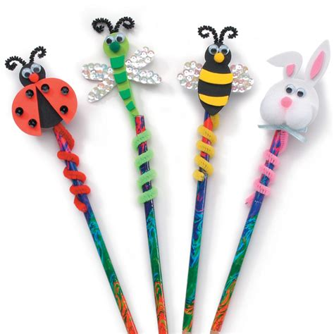 pencil topper crafts for foam pencil topper kit 76002 pencil toppers