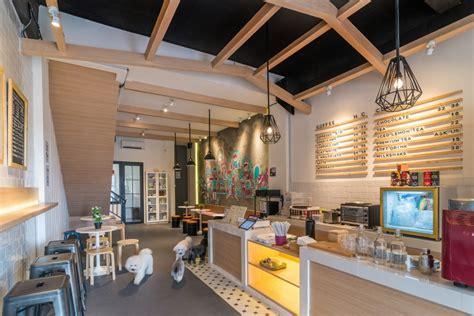 design cafe studio the barkbershop pet grooming studio cafe by evonil