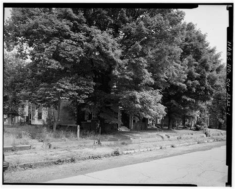 Belmont County Ohio Records 1 General View Looking West Guernsey Bellaire Ohio Willis