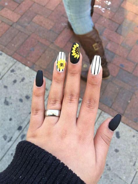 imagenes de uñas decoradas girasoles las 25 mejores ideas sobre dise 241 os de u 241 as mate en