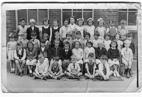 county primary school class photo c1953 1955 downs county primary school