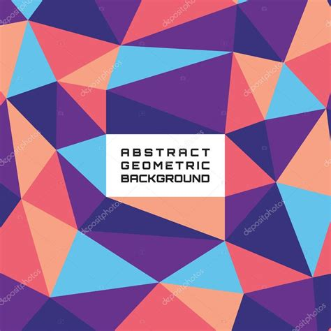 geometric pattern website abstract geometric background in futuristic colors with