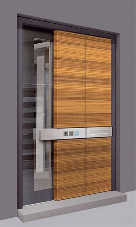 Contemporary Wood Doors Exterior Plushemisphere Modern Door Designs