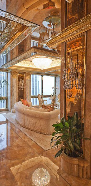 trump gold apartment donald and melania trump s new york city penthouse