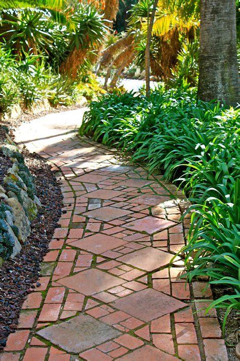 bricks garden pics brick walkway ideas landscaping network