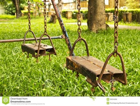 swing stock photos empty swing set royalty free stock photos image 26034268