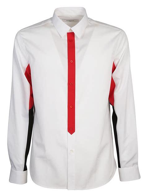 s color block shirt givenchy givenchy color block shirt white s