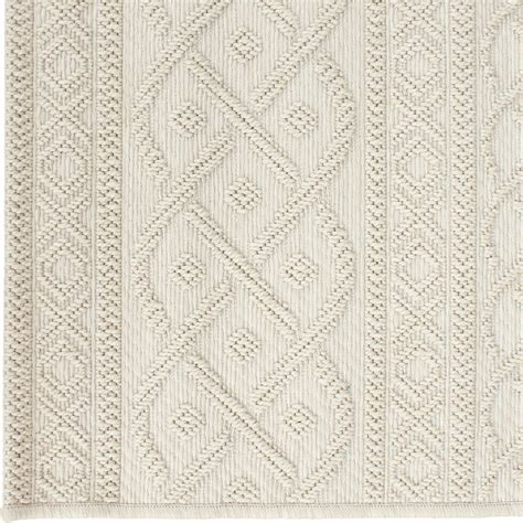 Organic Area Rug Orian Rugs Indoor Outdoor Knit Organic Cable Ivory Area Small Rug 3900 5x8 Orian Rugs