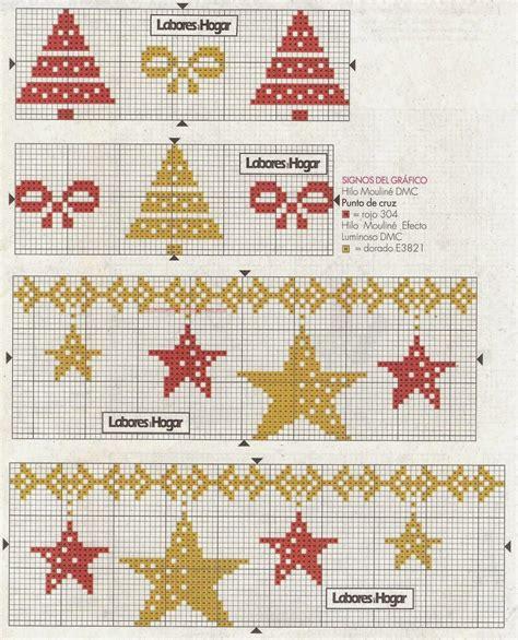graficos punto de cruz gratis cenefas 82 - Cenefas Navidad Punto De Cruz