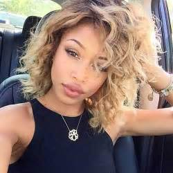 weaved lob hairstyle best short curly weave hairstyles short hairstyles 2016