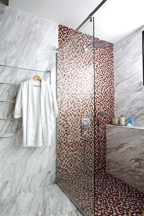 bathroom floor tiles singapore 9 marble clad bathrooms to be inspired by home decor