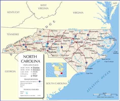 map of of carolina carolina state map carolina state map