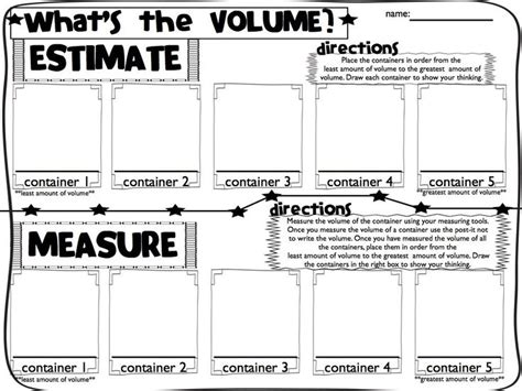 measuring volume how much liquid can it hold worksheet 69 best volume and capacity images on pinterest teaching