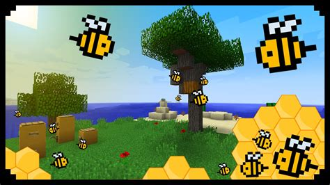 bee mine craft minecraft how to make a buzzing beehive