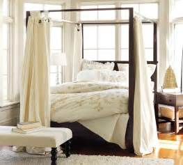 Canopy Bed Bedding Diy Canopy Bed From Pvc Pipes Midcityeast