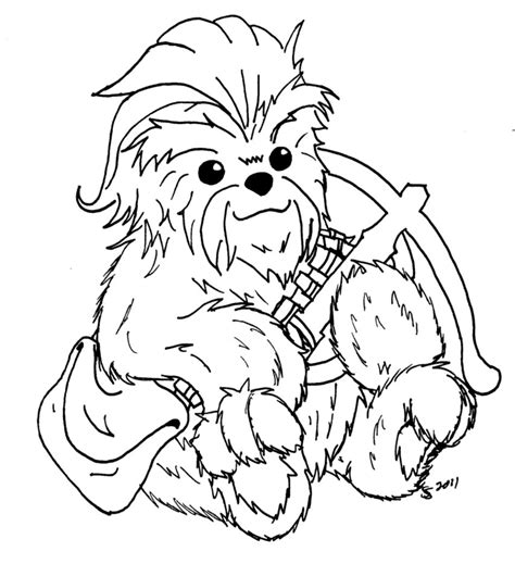 chewbacca coloring pages free coloring pages of by chewbacca