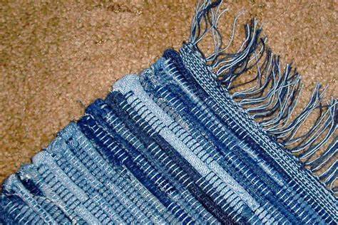 denim rugs let s stay cool recycled denim rugs carpets