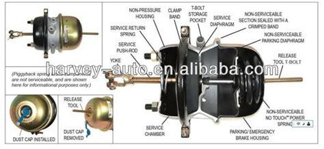 air brake chamber diagram hv s29 t30 30dd truck air brake chamber stroke