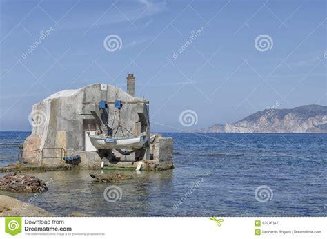 fisherman s fisherman s house on the coast royalty free stock
