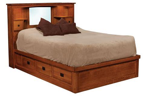 amish mission platform bed 11035 amish mission platform bed from dutchcrafters amish furniture