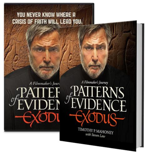 pattern of evidence book the good news today patterns of evidence exodus