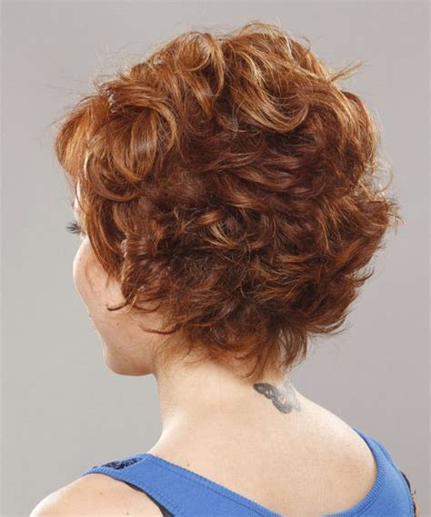 short hair cut curly large head back short hair styles age 40 women with wavy hair