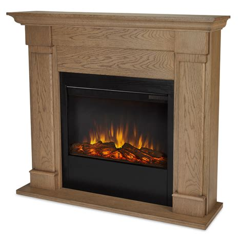 real lowry slim line electric fireplace in oak