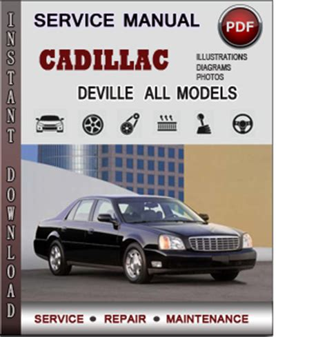 service repair manual free download 1997 cadillac deville auto cadillac deville service repair manual download info