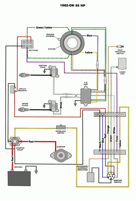 4 wire electrical wiring diagrams yamaha 25hp 4 stroke outboard motor wiring diagram