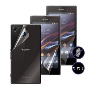 Soft Xperia Z1 Glossy muvit matte glossy screen protector for sony xperia z1