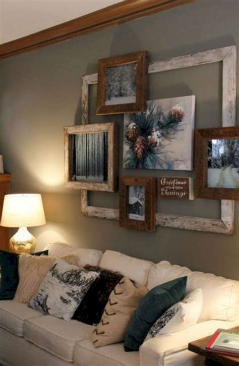 home decor for walls 17 diy rustic home decor ideas for living room futurist